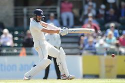Jack Taylor of Gloucestershire hits his personal best of 156 runs - Photo mandatory by-line: Dougie Allward/JMP - Mobile: 07966 386802 - 09/07/2015 - SPORT - Cricket - Cheltenham - Cheltenham College - LV=County Championship 2