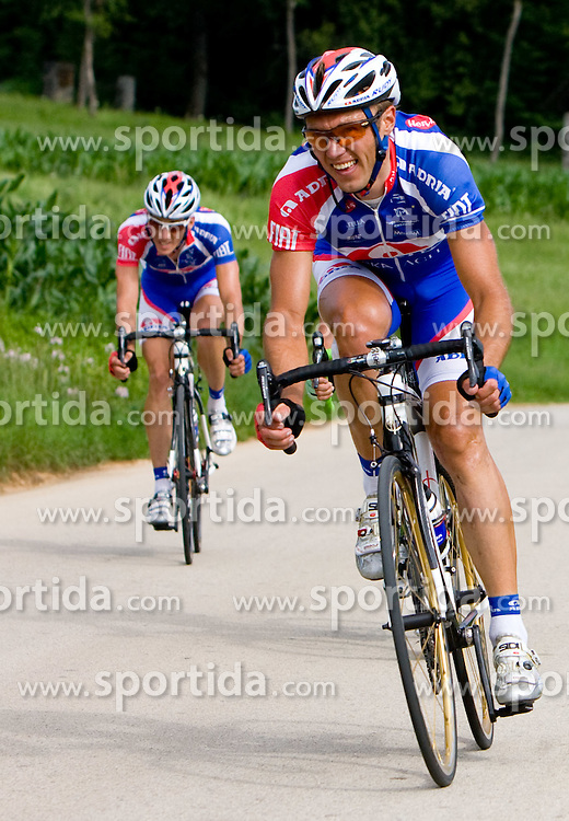 Uros Murn at Slovenian National Championships in Road cycling, 178 km, on June 28 2009, in Mirna Pec, Slovenia. (Photo by Vid Ponikvar / Sportida)