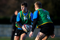 Tom De Glanville of England Under 20s - Mandatory by-line: Robbie Stephenson/JMP - 08/01/2019 - RUGBY - Bisham Abbey National Sports Centre - Bisham Village, England - England Under 20s v  - England Under 20s Training