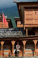 Bhimakali Temple, originally known as Bhimadevi Temple, in Sarahan, Himachal Pradesh.