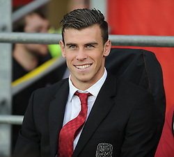 Gareth Bale of Wales starts on the bench for the friendly.  - Photo mandatory by-line: Alex James/JMP - Tel: Mobile: 07966 386802 14/08/2013 - SPORT - FOOTBALL - Cardiff City Stadium - Cardiff -  Wales V Republic of Ireland - International Friendly