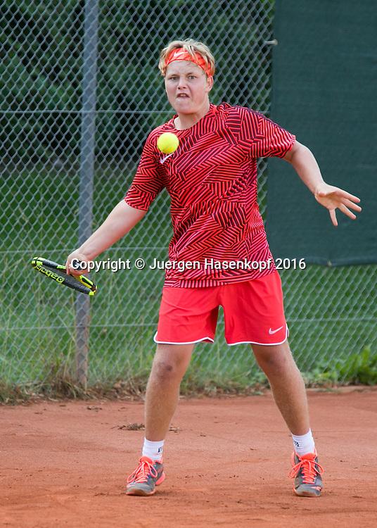 Tennis Europe-Bavarian Junior Open, Jerome Joaquin Alt (SUI) BS14<br /> <br /> Tennis - Bavarian Junior Open 2016 - Tennis Europe Junior Tour -  SC Eching - Eching - Bayern - Germany  - 11 August 2016. <br /> &copy; Juergen Hasenkopf