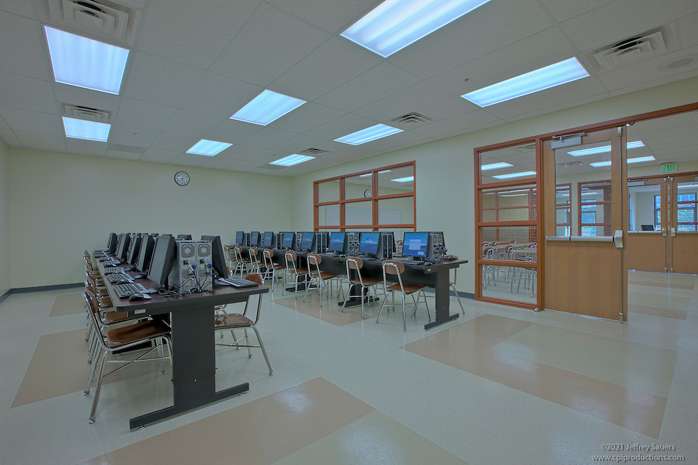 Interior Image Of Mount Saint Joseph High School Classroom Renovation