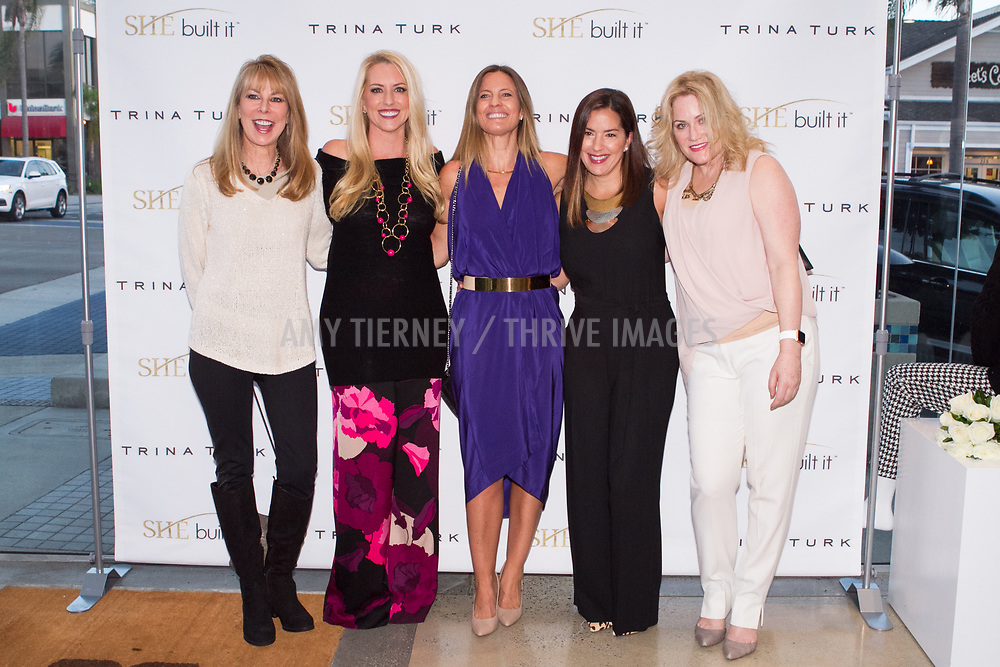 Susan Bloomfield, Melanie Barr, Founder of She Built It, Daniella Peters, Silvia Couso-Celis, and Tara Crimin