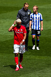 Ashley Williams of Bristol City looks dejected after Sheffield Wednesday win 1-2 - Rogan/JMP - 28/08/2020 - Ashton Gate Stadium - Bristol, England - Bristol City v Sheffield Wednesday - Sky Bet Championship.