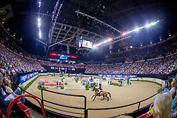 Sheikh Ali Al Thani Bin Khalid, QAT, First Devision<br /> World Cup Final Jumping - Las Vegas 2015<br /> © Hippo Foto - Dirk Caremans<br /> 19/04/2015