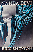 Nanda Devi , Eric Shipton, Hodder & Stoughton, artwork by Bip Pares