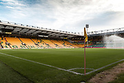 General view of Carrow Road during the EFL Sky Bet Championship match between Norwich City and Burton Albion at Carrow Road, Norwich, England on 12 September 2017. Photo by Richard Holmes.