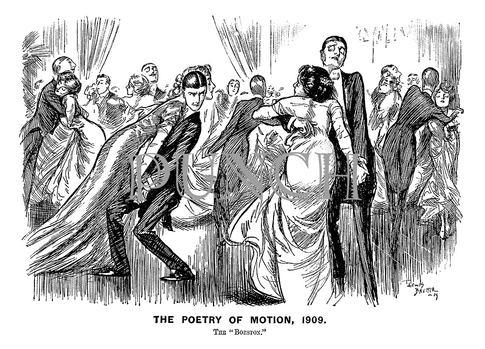 "Poetry of Motion, 1909. The ""Borston."""