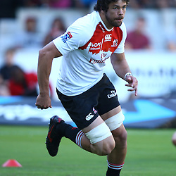 DURBAN, SOUTH AFRICA - APRIL 09:  Warren Whiteley of the Emirates Lions during the 2016 Super Rugby match between Cell C Sharks and Emirates Lions at Growthpoint Kings Park on April 09, 2016 in Durban, South Africa. (Photo by Steve Haag/Gallo Images)