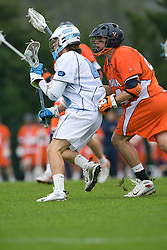 05 April 2008: Virginia Cavaliers defenseman Ryan Nizolek (24) during a 11-12 OT win over the North Carolina Tar Heels on Fetzer Field in Chapel Hill, NC.