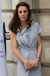 © Licensed to London News Pictures. 04/05/2016. London, UK. CATHERINE, DUCHESS OF CAMBRIDGE, attends Anna Freud Centre lunch reception in support of the children's mental health charity's new centre of excellence.   Photo credit: Ray Tang/LNP