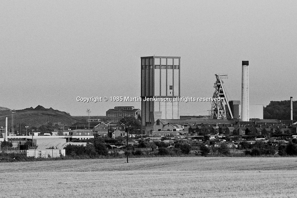 Yorkshire Main Colliery, Edlington. National Coal Board Doncaster Area. 14.09.1985