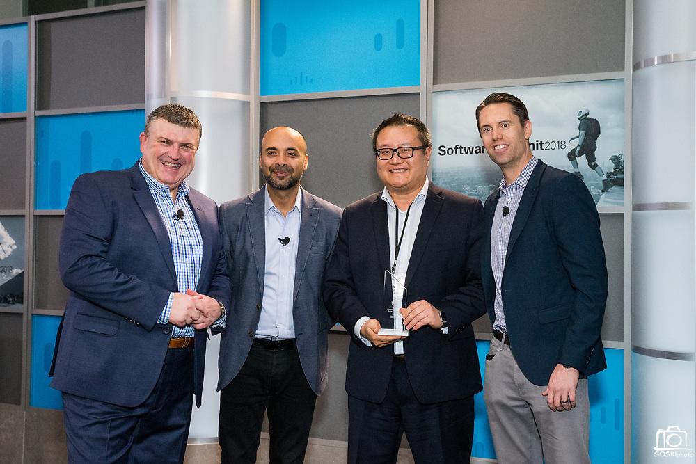 Cisco Systems, Inc. hosts their Software Summit 2018 at Cisco in San Jose, California, on February 28, 2018. (Stan Olszewski/SOSKIphoto for Doug Cody)
