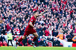 Dejan Lovren of Liverpool celebrates scoring a goal to make it 1-0 - Mandatory by-line: Robbie Stephenson/JMP - 26/12/2018 - FOOTBALL - Anfield - Liverpool, England - Liverpool v Newcastle United - Premier League