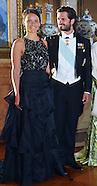 Prince Carl Philip & Sofia Hellqvist Attend Banquet
