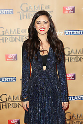 © Licensed to London News Pictures. 18/03/2015, UK. Ian Jessica Henwick (Nymeria Sand), Game of Thrones - Series Five World Premiere, Tower of London, London UK, 18 March 2015. Photo credit : Richard Goldschmidt/Piqtured/LNP