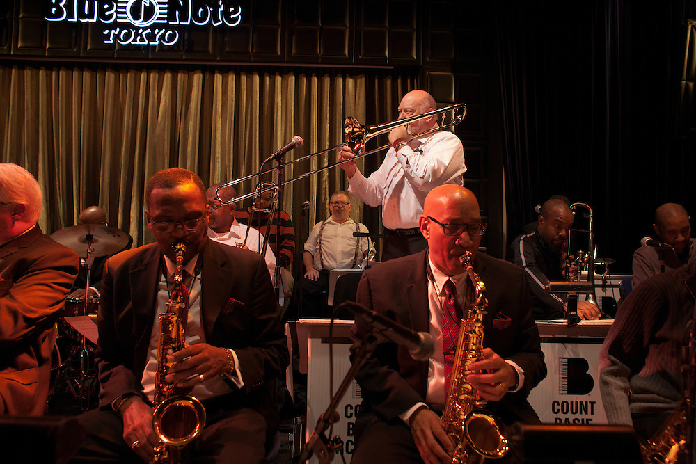 The Blue Note  Count Bassie Orchestra