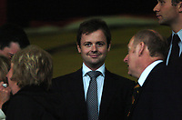 Photo: Tony Oudot.<br /> Watford v Newcastle United. The Barclays Premiership. 13/05/2007.<br /> Declan Donnelly of Ant & Dec fame in the crowd