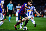 06 Denis Suarez from Spain of FC Barcelona during the Spanish championship La Liga football match between FC Barcelona and Real Sociedad on May 20, 2018 at Camp Nou stadium in Barcelona, Spain - Photo Xavier Bonilla / Spain ProSportsImages / DPPI / ProSportsImages / DPPI