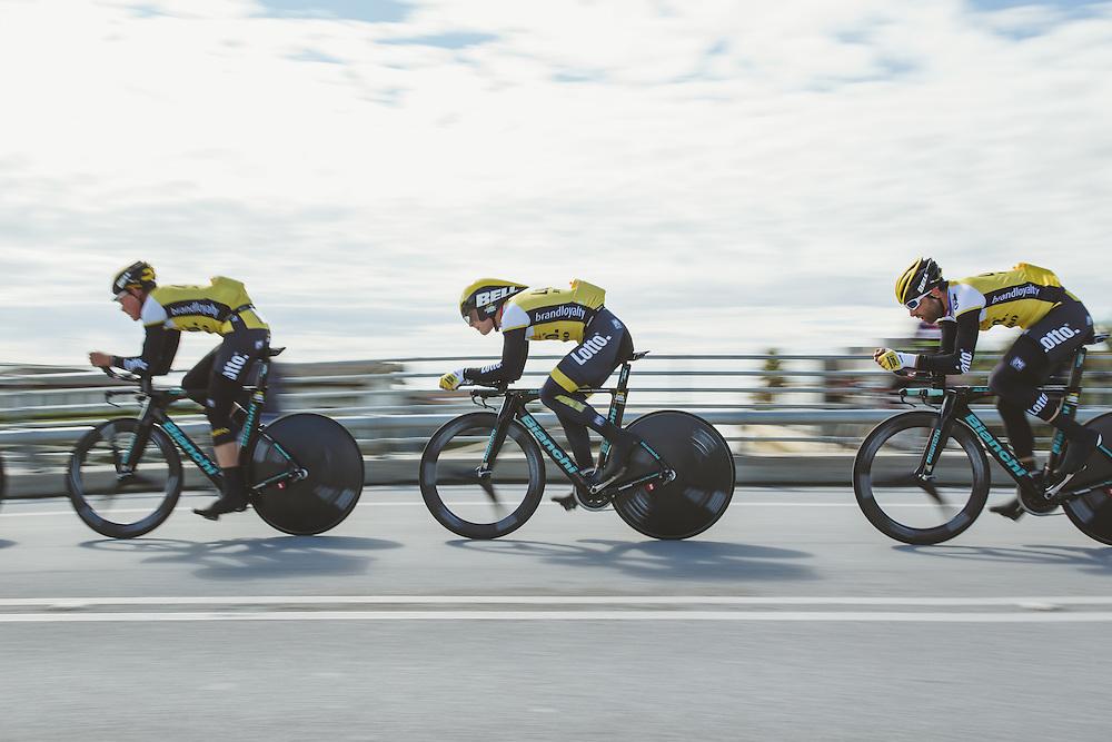 2016 Tirreno-Adriatico Stage 1: Lido di Camaiore-Lido di Camaiore 22.7 km. Photo: Jim Fryer / BrakeThrough Media