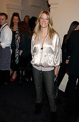 Radio presenter EDITH BOWMAN at a party to celebrate the Stella McCartney's unique collaboration with fashion store H&M at St.Olavs, Tooley Street, London SE1 on 25th October 2005.<br /><br />NON EXCLUSIVE - WORLD RIGHTS