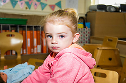 Pictured: Leanna (two years old)<br /> Today social security minister Jeane Freeman MSP visited voluntary organisation  Stepping Stones (North Edinburgh), a group which helps young parent families and pregnant women, and met parents and children. The visit marked the introduction of the first Social Security (Scotland) Bill.<br /> Ger Harley | EEm 21 June  2017