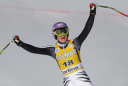 15.01.2012, Pista Olympia delle Tofane, Cortina, ITA, FIS Weltcup Ski Alpin, Damen, Super G, im Bild Maria Hoefl-Riesch (GER, Rang 2) // second place Maria Hoefl-Riesch of Germany during superG race of FIS Ski Alpine World Cup at 'Pista Olympia delle Tofane' course in Cortina, Italy on 2012/01/15. EXPA Pictures © 2012, PhotoCredit: EXPA/ Erich Spiess