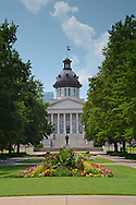 Flowers in Bloom at the SC State house
