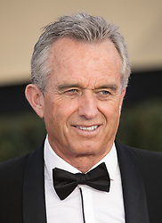 January 21, 2018 - Los Angeles, California, U.S - Robert F. Kennedy at the red carpet of the 24th Annual Screen Actors Guild Awards held at the Shrine Auditorium in Los Angeles, California, Sunday January 21, 2018. (Credit Image: © Prensa Internacional via ZUMA Wire)