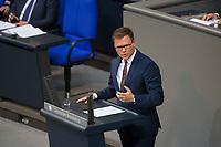 DEU, Deutschland, Germany, Berlin, 13.12.2017: Der Parlamentarische Geschäftsführer der SPD-Bundestagsfraktion, Carsten Schneider, bei einer Rede im Deutschen Bundestag.