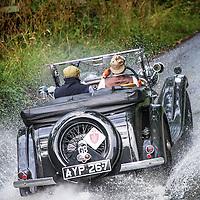 Bonhams Motoring Department in their Lagonda M45  on the Royal Automobile Club 1000 Mile Trial 2015