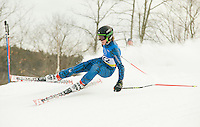 Macomber Cup J1 J2 giant slalom at Dartmouth Skiway, January 24, 2010.