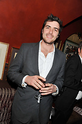 CHARLIE ASTOR at the Johnnie Walker Blue Label and David Gandy partnership launch party held at Annabel's, 44 Berkeley Square, London on 5th February 2013.