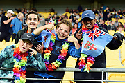 Fiji fans before the New Zealand All Whites v Fiji, FIFA Football World Cup Qualification, OFC Final Group Stage. Westpac Stadium, Wellington, New Zealand. 28 March 2017. Copyright Image: Mark Tantrum / www.photosport.nz
