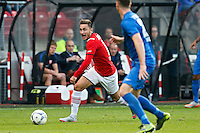 ALKMAAR - 04-10-2015, AZ - FC Twente, AFAS Stadion, 3-1, AZ speler Muamer Tankovic.
