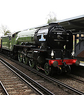 British Railways Peppercorn Class A1 60163 Tornado steam locomotive