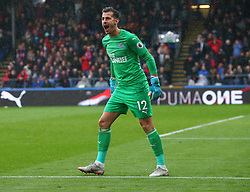 September 22, 2018 - London, England, United Kingdom - Newcastle United's Martin Dubravka not happy.during Premier League between Crystal Palace and Newcastle United  at Selhurst Park Stadium , London , England on 22 Sept 2018. (Credit Image: © Action Foto Sport/NurPhoto/ZUMA Press)