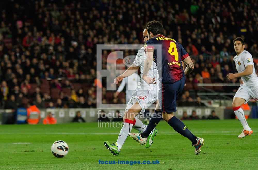 Picture by Cristian Trujillo/Focus Images Ltd +34 64958 5571.06/04/2013.Cesc Fàbregas of FC Barcelona during the La Liga match at Camp Nou, Barcelona.