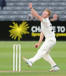 Liam Norwell of Gloucestershire - Mandatory byline: Dougie Allward/JMP - 07966386802 - 21/08/2015 - Cricket - County Ground -Bristol,England - Gloucestershire CCC v Surrey CCC - LV= COUNTY CHAMPIONSHIP