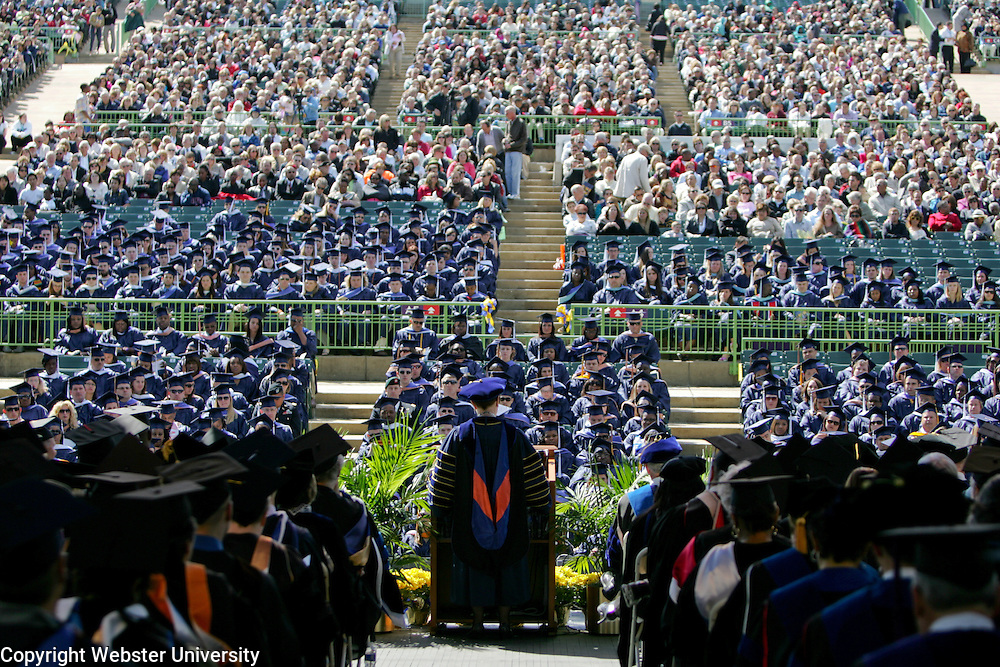 Webster University - Commencement 2012