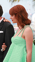 Actress Tihana Lazovic at the Zvizdan (The High Sun) film photo call at the 68th Cannes Film Festival Sunday 17th May 2015, Cannes, France.