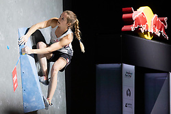 Jessica Pilz of Austria during Women's bouldering semifinal at the IFSC Climbing World Championships Innsbruck 2018, on September 14, 2018 in OlympiaWorld Innsbruck, Austria, Slovenia. Photo by Urban Urbanc / Sportida