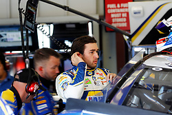 June 22, 2018 - Sonoma, CA, U.S. - SONOMA, CA - JUNE 22: Chase Elliott, driver for the Napa Auto Parts sponsored Hendrick Motorsports Chevrolet, takes a breather between practice sessions at the Monster Energy NASCAR Cup Series - Toyota/Save Mart 350 at Sonoma Raceway in Sonoma, CA. (Photo by Larry Placido/Icon Sportswire) (Credit Image: © Larry Placido/Icon SMI via ZUMA Press)