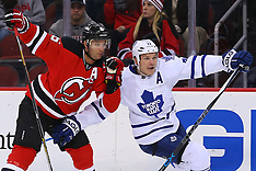 January 28, 2015: Maple Leafs at New Jersey Devils