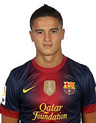 F.C. Barcelona 2012 / 2013. Ibrahim Afellay ..Photo: Gregorio / ALFAQUII