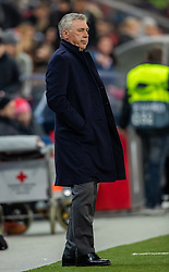 14.03.2019, Red Bull Arena, Salzburg, AUT, UEFA EL, FC Red Bull Salzburg vs SSC Napoli, Achtelfinale, Rückspiel, im Bild Trainer Carlo Ancelotti (SSC Napoli) // during the UEFA Europa League round of 16, 2nd leg match between FC Red Bull Salzburg and SSC Napoli at the Red Bull Arena in Salzburg, Austria on 2019/03/14. EXPA Pictures © 2019, PhotoCredit: EXPA/ Johann Groder