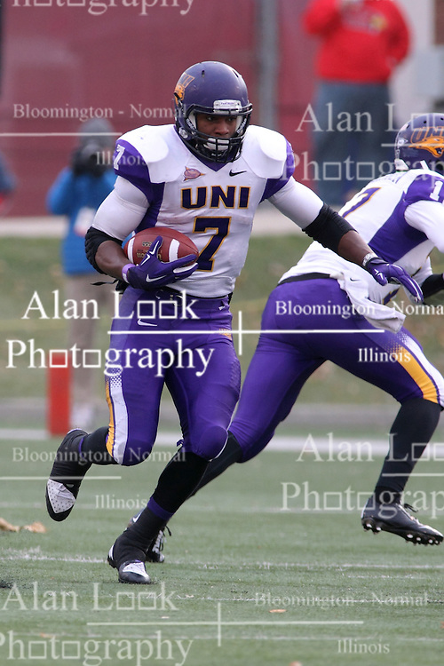 06 December 2014:  Normal Illinois.  David Johnson during a 1st round FCS NCAA football game between the Panthers of Northern Iowa and the Redbirds of Illinois State in Hancock Stadium.  Illinois State won the game 41-21.