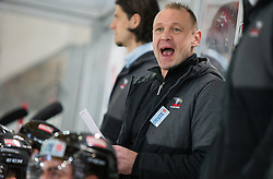 13.02.2016, Olympiaworld, Innsbruck, AUT, Euro Ice Hockey Challenge, Österreich vs Frankreich, im Bild Headcoach Daniel Ratushny (AUT) // Headcoach Daniel Ratushny of Austria during the Euro Icehockey Challenge Match between Austria and France at the Olympiaworld in Innsbruck, Austria on 2016/02/13. EXPA Pictures © 2016, PhotoCredit: EXPA/ Jakob Gruber