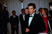 John Kennedy, Jr., son of President Kennedy during the State Dinner at the White House February 5, 1998 in Washington, DC.